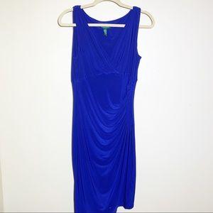 Ralph Lauren | Sleeveless cocktail dress